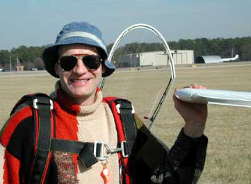 Dieter first LS3 flight